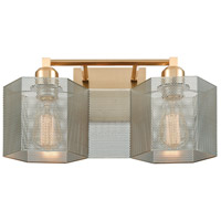 Decovio Satin Brass Bathroom Vanity Lights