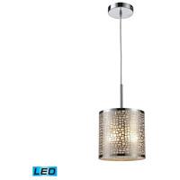 Decovio 13937-PSAL1 Plattekill LED 8 inch Polished Stainless Steel Mini Pendant Ceiling Light