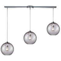 Decovio 13982-PCHP3-2 Poughkeepsie 3 Light 36 inch Polished Chrome Mini Pendant Ceiling Light Linear