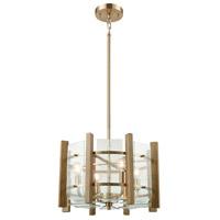 Decovio 14115-SBC4 Paradise 4 Light 18 inch Satin Black Chandelier Ceiling Light