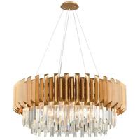 Decovio 14178-MGC8 Marion 8 Light 34 inch Matte Gold Chandelier Ceiling Light