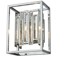 Decovio 14184-PCC1 Tyrone 1 Light 9 inch Polished Chrome Sconce Wall Light