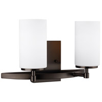 Decovio 16570-BOEWL2 Smithtown LED 14 inch Brushed Oil Rubbed Bronze Wall Bath Fixture Wall Light