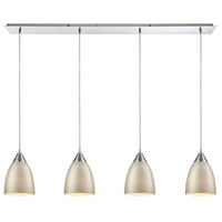 Decovio 14468-PCSL4 Oneonta 4 Light 46 inch Polished Chrome Mini Pendant Ceiling Light, Linear