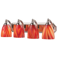 Decovio Glass Hempstead Bathroom Vanity Lights