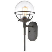 Decovio 14549-CCI1 Skaneateles 1 Light 19 inch Charcoal Outdoor Sconce
