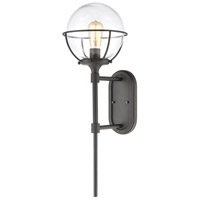 Decovio 14551-CCI1 Skaneateles 1 Light 28 inch Charcoal Outdoor Sconce