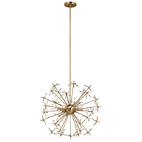 Decovio 16733-SB6 Luzerne 6 Light 25 inch Satin Bronze Pendant Ceiling Light