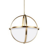 Decovio 16745-SBEW3 Smithtown 3 Light 19 inch Satin Bronze Pendant Ceiling Light