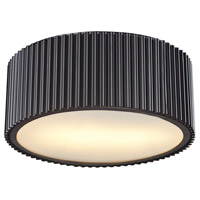 Decovio 14710-OR2 Arcadia 2 Light 13 inch Oil Rubbed Bronze Flush Mount Ceiling Light