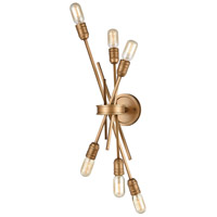 Decovio 14796-MGI6 Rockville 6 Light 10 inch Matte Gold Sconce Wall Light