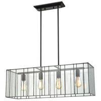 Decovio 14908-ORC4 Keating 4 Light 31 inch Oil Rubbed Bronze Chandelier Ceiling Light