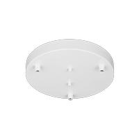 Decovio 16770-W3 Abington 3 Light 10 inch White Pendant Ceiling Light