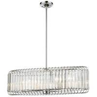 Decovio 14978-PCC6 Scottdale 6 Light 32 inch Polished Chrome Island Light Ceiling Light