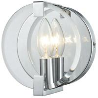 Decovio 14980-PCCB1 Olyphant 1 Light 6 inch Polished Chrome Vanity Light Wall Light