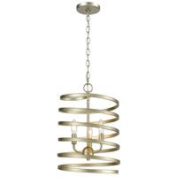 Decovio 14983-AS3 McSherrystown 3 Light 13 inch Aged Silver Pendant Ceiling Light