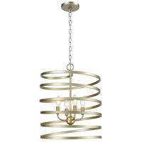 Decovio 14984-AS4 McSherrystown 4 Light 17 inch Aged Silver Pendant Ceiling Light