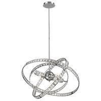 Decovio 14999-CC6 Wysox 6 Light 24 inch Chrome Chandelier Ceiling Light