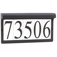 Decovio 16865-B2 Vernon 2 Light 7 inch Black Address Light