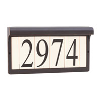 Decovio 16865-AB2 Vernon 2 Light 7 inch Antique Bronze Address Light