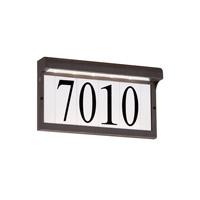 Decovio 16865-ABL Vernon LED 7 inch Antique Bronze Address Light
