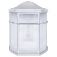 Decovio MON081009L30ENWH Montauk LED 8 inch White Sconce Wall Light