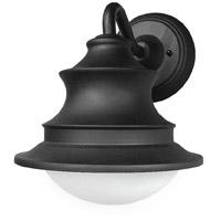Decovio MON061007L30ENBK Montauk LED 9 inch Black Sconce Wall Light
