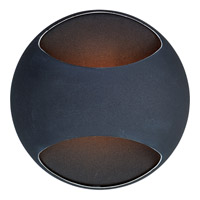 Decovio 16289-BX1 Alsace 1 Light 5 inch Black ADA Wall Sconce Wall Light