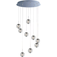 Decovio 16403-PCCBX9 Sidney 9 Light 22 inch Polished Chrome Pendant Ceiling Light