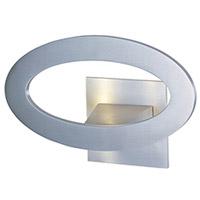 Decovio 16416-SAL7 Butler LED 10 inch Satin Aluminum ADA Wall Sconce Wall Light