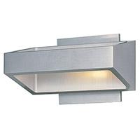 Decovio 16417-SAL18 Butler LED 7 inch Satin Aluminum Wall Sconce Wall Light