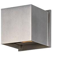 Decovio 16421-SAL2 Butler LED 4 inch Satin Aluminum Wall Sconce Wall Light