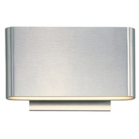 Decovio 16423-SAL6 Butler LED 5 inch Satin Aluminum ADA Wall Sconce Wall Light