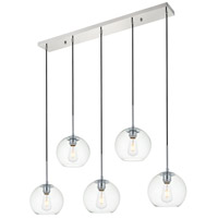 Decovio 12716-CI5 Huntington 5 Light 8 inch Chrome Pendant Ceiling Light alternative photo thumbnail