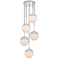 Decovio 12920-CI5 Oyster Bay 5 Light 18 inch Chrome Pendant Ceiling Light alternative photo thumbnail