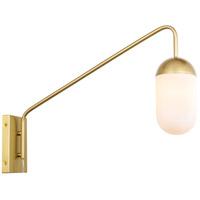 Decovio 13026-B1 Malta 1 Light 5 inch Brass Wall sconce Wall Light