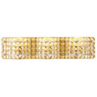 Decovio 13122-BCR3 Schuyler 3 Light 21 inch Brass Wall sconce Wall Light