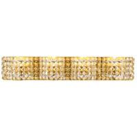 Decovio 13124-BCR4 Schuyler 4 Light 27 inch Brass Wall sconce Wall Light