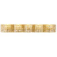 Decovio 13126-BCR5 Schuyler 5 Light 34 inch Brass Wall sconce Wall Light
