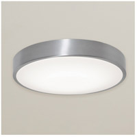 Decovio MON1932LAJD1BA Montauk LED 19 inch Brushed Aluminum Flush Mount Ceiling Light