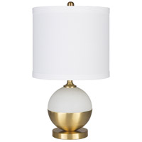 Decovio White Metal Iron Table Lamps