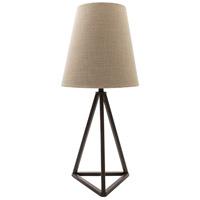 Decovio 10481-P1 Persia 30 inch 100 watt Painted Table Lamp Portable Light