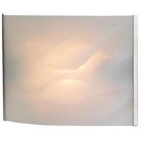Decovio 15075-SSHF1-2 Cicero 1 Light 8 inch Stainless Steel Vanity Light Wall Light