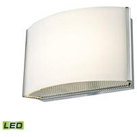 Decovio 15100-COL1 Manlius LED 7 inch Chrome Vanity Light Wall Light