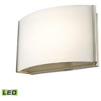 Decovio 15100-SNOL1 Manlius LED 7 inch Satin Nickel Vanity Light Wall Light