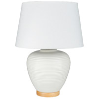 Decovio White Polyester Table Lamps