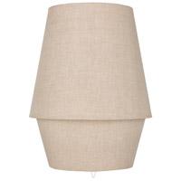 Decovio 10676-T1 Porter 20 inch 40 watt Taupe Table Lamp Portable Light