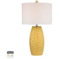 Decovio 16961-SYL1-3 Northport 27 inch 60 watt Sunshine Yellow Table Lamp Portable Light