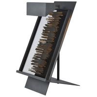 Decovio 17053-BP1 Reynoldsville 22 inch 60 watt Black Powder Coat Table Picture Lamp Portable Light