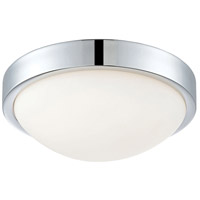 Decovio 15110-CWOL1 Fairfield LED 10 inch Chrome Flush Mount Ceiling Light
